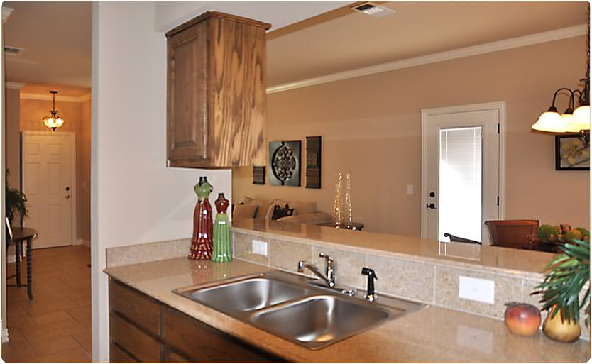 The kitchens sport fully granite counter tops with excellent appliances that are maintenance free!